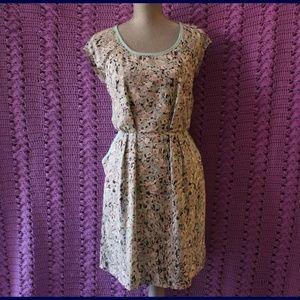 Anthropologie Geometric Dress By Joie Size M